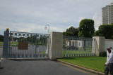 Entrance to the Manila American Cemetery and Memorial.