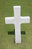 Close-up of one of the thousands of crosses.