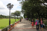 Rizal Park (also known as Luneta Park or colloquially Luneta) is adjacent to the old walled city of Manila, now Intramuros.