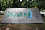 A map of Rizal Park.