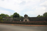 The defense fortress is part of the structures of the walled city of Manila referred to as Intramuros (within the walls).