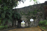 Fort Santiago gate where the occupants passed through to get to the Passig River.