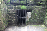 Gates of the dungeon where approximately 600 Filipinos died.