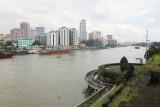 Manila high rises across the Pasig River.