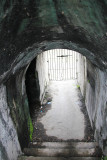 Close-up of the passageway.