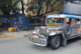 All I had to do was to stand in one place and wait for all the jeepneys to pass by.