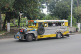 Another one of dozens of jeepneys that passed by.