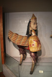 Borak, a mythical figure with the body of a horse and the head of a man.