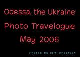 Odessa, the Ukraine cover page.