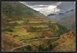 The Central Road of Bhutan.