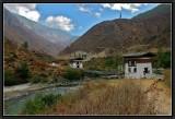 Tachogang (Western Bhutan) A Bridge over Paro River.