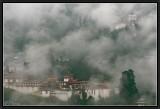 Morning Mist at Trongza Dzong and Watchtower