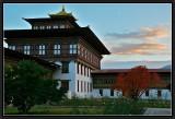 Inside Tashichoedzong. Thimphu.