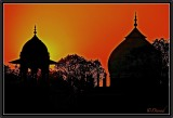 Winter Dawn. Agra.