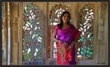 Inside Udaipur City Palace.