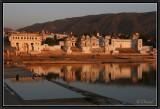 The Ghats of Pushkar.