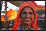 In the Bazaar of Pushkar.