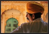 In the Palace of the Maharajah of Jodhpur.