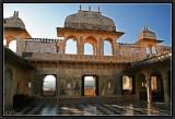 Inside the Royal Palace. Udaipur.