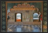 Chini Ki Chitram Mahal. Udaipur City Palace.