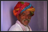 A Villager in the Bazaar. Bundi.