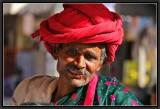 A Rebari. Pushkar Bazaar.