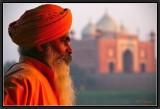 Contemplation. Agra.