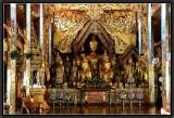 An Assembly of Buddhas. Wat Jonk Kham. Kengtung.