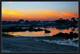 Dusk on the Western Shore. (Brignogan).