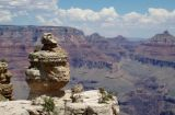 Darth Vaderish rock at the Grand Canyon