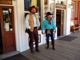 Gunslingers waiting for a fight in Tombstone