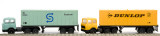 Lima Container Wagon with Lorries