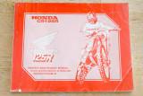 Honda CR125R Manual