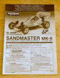 Kyosho Sandmaster Mk.II Manual