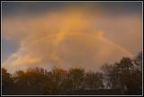 Rainbow over my house
