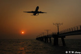 Sunset @ South Runway of HK Airport DSC_5089