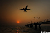 Sunset @ South Runway of HK Airport DSC_5091