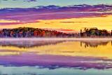Otter Lake At Sunrise 20121017