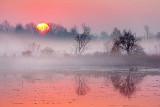 Rideau Canal Misty Sunrise 20121026