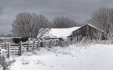 Winter Barn 32397