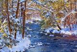 Fall River In Winter 32630