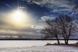 Frozen Lower Rideau Lake 20130122