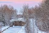 Frozen Tay Canal 32573-4