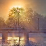Misty Canal 20130211