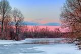Thawing Irish Creek At Sunrise 20130323
