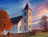 Wolford Chapel At Sunrise DSCF00554