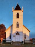 Wolford Chapel At Sunrise DSCF00558