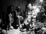 Guérisseurs, devins et féticheurs et des places magiques à Burkina Faso