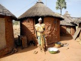 In the Turka village Niofila, Burkina Faso
