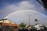 An after dinner rainbow